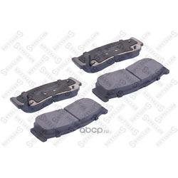 Комплект тормозных колодок (Stellox) 000001BSX