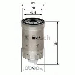 Топливный фильтр (Bosch) 1457434293