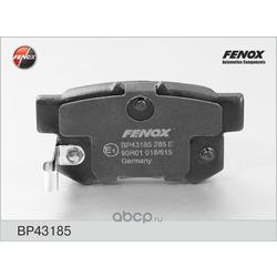 Комплект тормозных колодок, дисковый тормоз (FENOX) BP43185