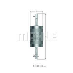 Топливный фильтр (Mahle/Knecht) KL181