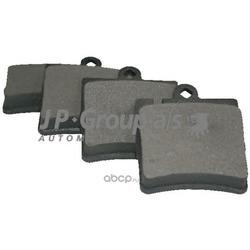 Комплект тормозных колодок, дисковый тормоз (JP Group) 1363700610