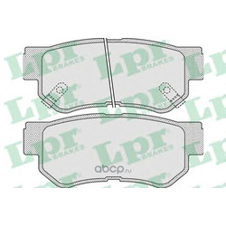 Комплект тормозных колодок, дисковый тормоз (Lpr) 05P848