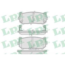 Комплект тормозных колодок, дисковый тормоз (Lpr) 05P808