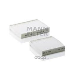Фильтр, воздух во внутренном пространстве (MANN-FILTER) CU210002
