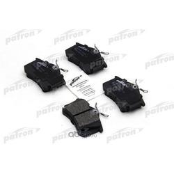 Колодки тормозные дисковые задн AUDI: A3 03-, A3 Sportback 04-, SEAT: ALTEA 04-, ALTEA XL 06-, TOLEDO III 04-, VW: GOLF V 03- (PATRON) PBP1637