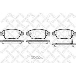 Комплект тормозных колодок, дисковый тормоз (Stellox) 869031BSX