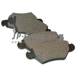 Колодки тормозные дисковые задние / OPEL Astra-G,Zafira (JP Group) 1263700210