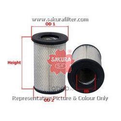 фильтр воздушный (Sakura) A1864
