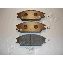 Комплект тормозных колодок, дисковый тормоз (Ashika) 5003339