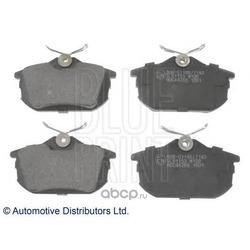 Комплект тормозных колодок, дисковый тормоз (Blue Print) ADC44266