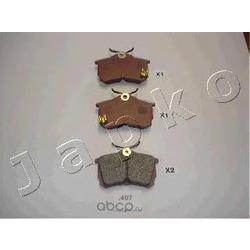Комплект тормозных колодок, дисковый тормоз (JAPKO) 51407