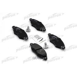 Колодки тормозные дисковые передн PEUGEOT: 206 хечбэк 98-, 306 94-01, 306 хечбэк 93-01, 306 кабрио 96-00 (PATRON) PBP1135