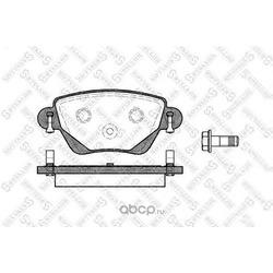 Комплект тормозных колодок, дисковый тормоз (Stellox) 788000BSX