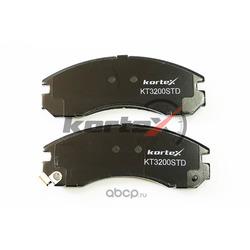 Колодки тормозные дисковые, комплект (KORTEX) KT3200STD