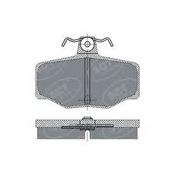 Колодки торм.RR (SCT) SP224