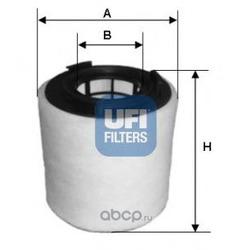 Воздушный фильтр (UFI) 2762100