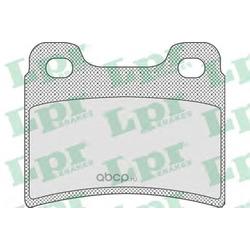 Комплект тормозных колодок, дисковый тормоз (Lpr) 05P747