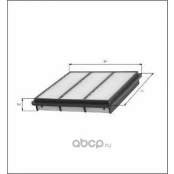 Воздушный фильтр (Mahle/Knecht) LX1700