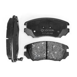 Колодки тормозные передние (Dextrim) DX7FD165