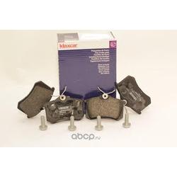Комплект тормозных колодок, дисковый тормоз (Klaxcar) 24838Z