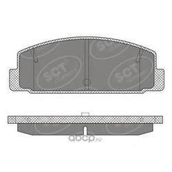 Колодки торм.RR (SCT) SP611