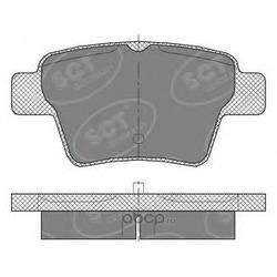 Колодки торм.RR (SCT) SP456