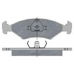 Колодки торм.FR (SCT) SP108