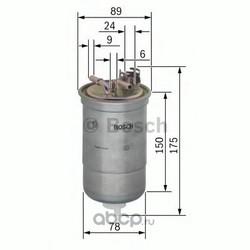 Топливный фильтр (Bosch) 0450906267