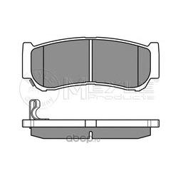 Комплект тормозных колодок, дисковый тормоз (Meyle) 0252448816W