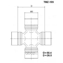 Крестовина карданного вала TOYO (TOYO) TMZ109