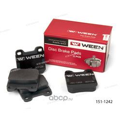 Тормозные колодки дисковые задние (Ween) 1511242