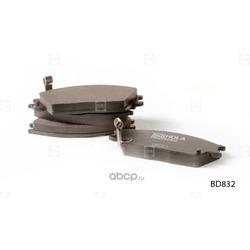 Колодки дисковые (HOLA) BD832