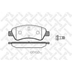 Комплект тормозных колодок (Stellox) 851010BSX