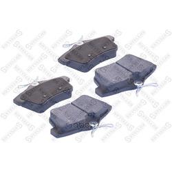 Комплект тормозных колодок, дисковый тормоз (Stellox) 000026BSX