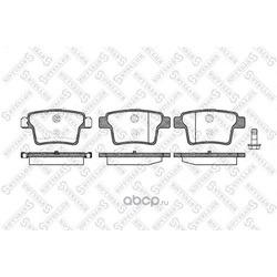 Комплект тормозных колодок (Stellox) 1160010BSX