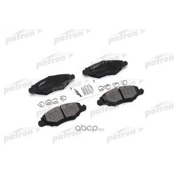 Колодки тормозные дисковые передн AUDI: A3 06-, A3 Sportback 06-, PEUGEOT: 206 SW 02-, 206 хечбэк 98- (PATRON) PBP1378