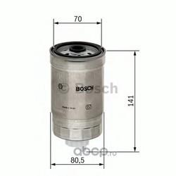 топливный фильтр (Bosch) 1457434511