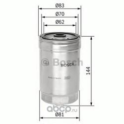 Топливный фильтр (Bosch) 1457434314