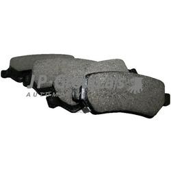 Колодки тормозные дисковые задние / OPEL Astra-G/H,Zafira-A/B,Corsa-C,Meriva (JP Group) 1263700110