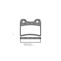 Комплект тормозных колодок, дисковый тормоз (Remsa) 041700
