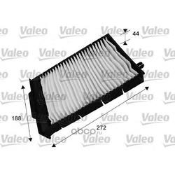 Фильтр, воздух во внутренном пространстве (Valeo) 698730