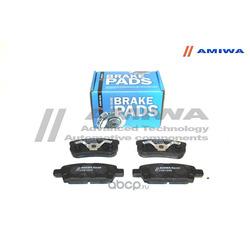 Колодки тормозные дисковые задние (Amiwa) CD6124S