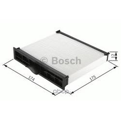 Фильтр, воздух во внутреннем пространстве (Bosch) 1987432164