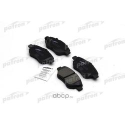Колодки тормозные дисковые передн OPEL:CORSA D 07.06- (PATRON) PBP1920