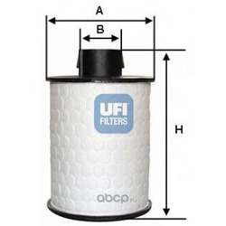 Топливный фильтр (UFI) 60H2O00