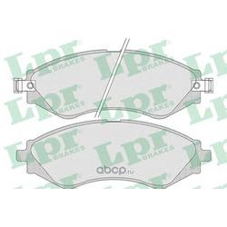 Комплект тормозных колодок, дисковый тормоз (Lpr) 05P729