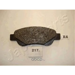 Комплект тормозных колодок, дисковый тормоз (Japanparts) PA217AF