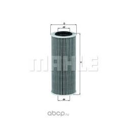 Фильтр масляный BMW (Mahle/Knecht) OX368D1