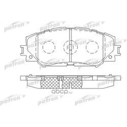 Колодки тормозные дисковые передн TOYOTA: COROLLA 150 07-, AURIS 07-, COROLLA седан 02-, RAV 4 III 05- (PATRON) PBP1891