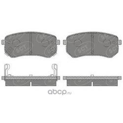Задние колодки на Киа Пиканто 2007 года (GBS) GC10010DM